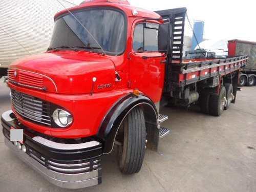Caminhão mb 1313 ano 1980 truck turbo direção