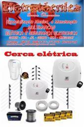 Cerca elétrica (instalação, manutenção e venda)