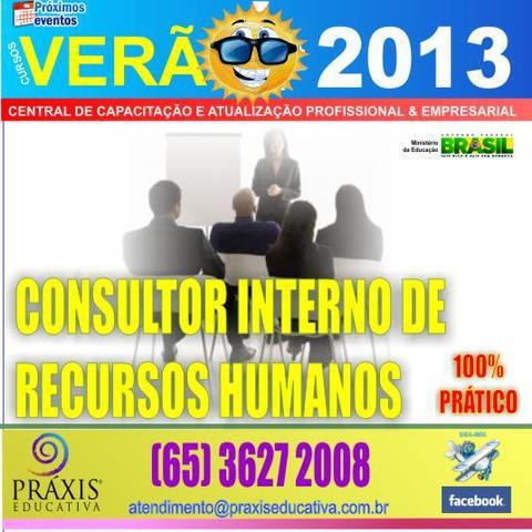 Consultor interno em recursos humanos