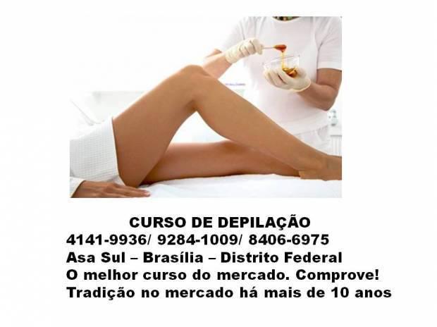 Curso de depilação em brasilia   distrito federal