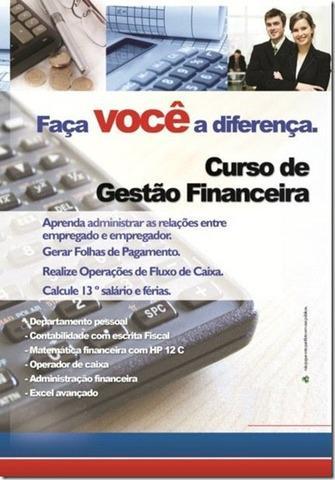 Curso de gestão financeira