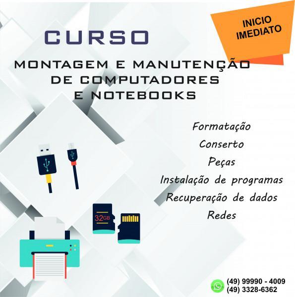 Curso de montagem e manutenção na worldtec informatica!!!