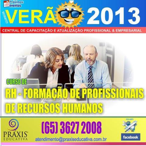 Curso de rh - formação de profissionais de recursos