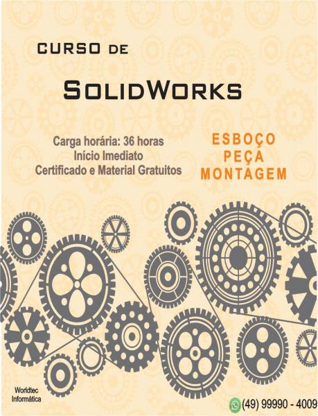 Curso de solidworks - 36 horas !!!