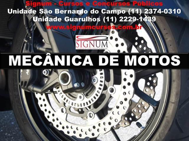 Curso de mecânica de motos no abc