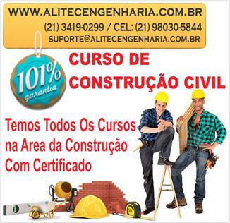 Cursos profissionalizantes da construção civil passo a