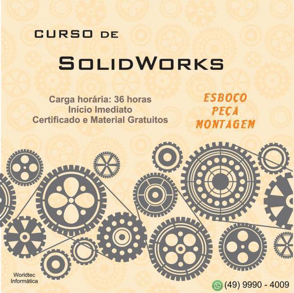 Cursos de solidworks e promob na worldtec informatica!!!