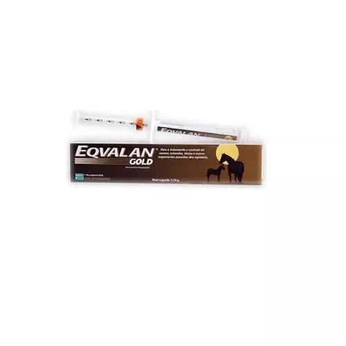 Eqvalan gold - 7,74 gr   vermífugo para equinos