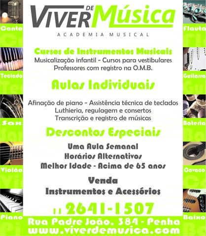 Escola de música na penha   viver de música