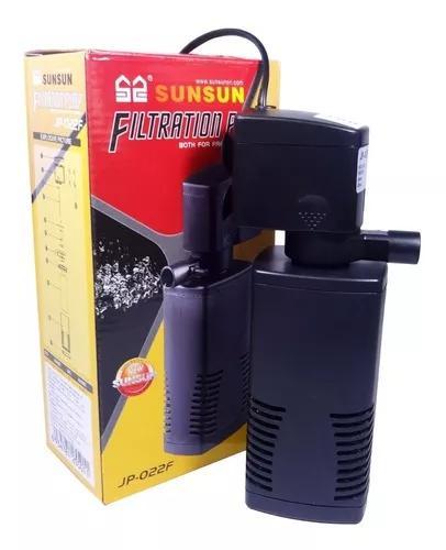 Filtro interno com bomba sunsun jp-022f 600l/h para