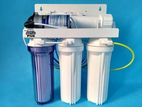 Filtro osmose reversa 100gpd + bomba p/ laboratorio aquario