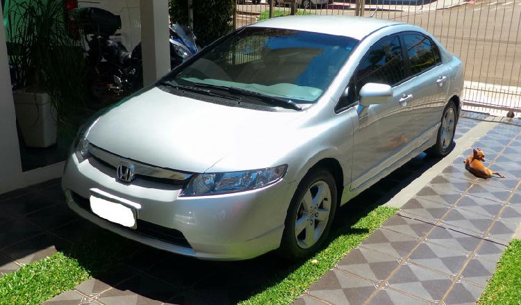 Honda civic lxs 1.8 flex - zero km