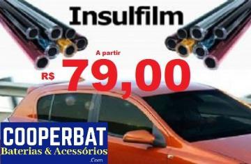 Insulfilm automotivo promoção