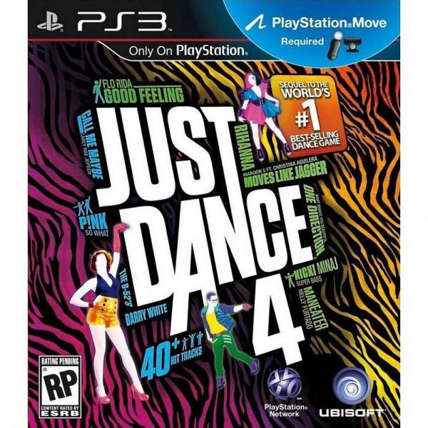 Jogo de dança just dance 4