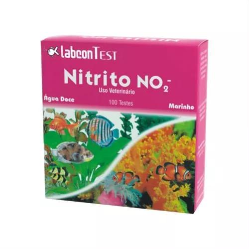 Labcon teste de no2 nitrito p/ aquarios agua doce e marinho
