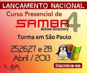Lançamento! novo curso presencial de samba4
