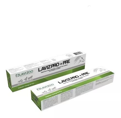 Laviz pro + pre 40 gr | probiótico para equinos lavizoo