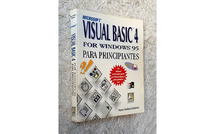 Livro visual basic 4 for windows 95 para principiantes