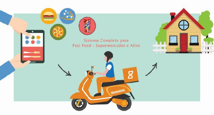 Loja virtual para fast foods e supermercados em geral