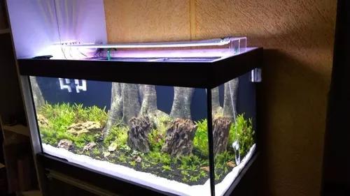Luminária led 96 watt 7.020 lumens aquário plantado