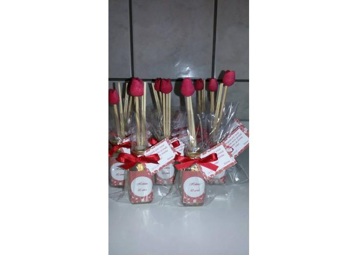 Mini aromatizador tulipa