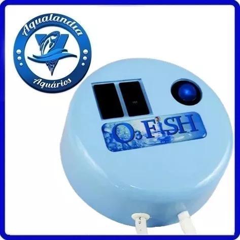O3 fish gerador ozonio aquario agua doce marinho