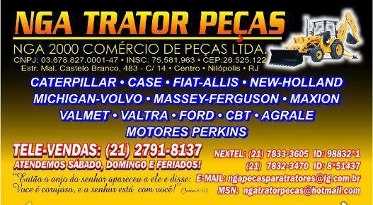 PEÇAS PARA TRATORES E RETRO ESCAVADEIRA
