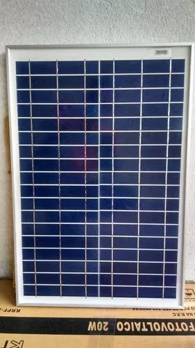 Painel módulo placa energia solar 12v 20w pronta entrega