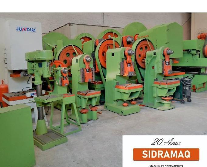 Prensa excentrica freio fricção 80 ton jundiaí 120 gpm