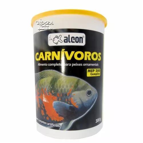 Ração alcon carnívoros 300gr