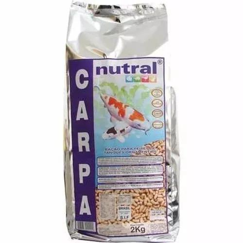 Ração carpa 2kg nutral