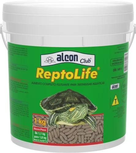Ração para tartarugas e répteis reptolife alcon 1 kg