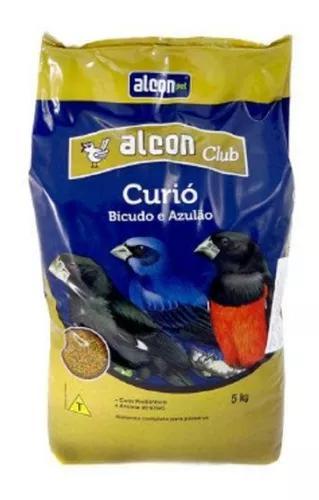 Ração passaros alcon club curió bicudo e azulão 5kg