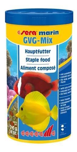 Ração sera gvg mix 210g para marinho com guloseimas