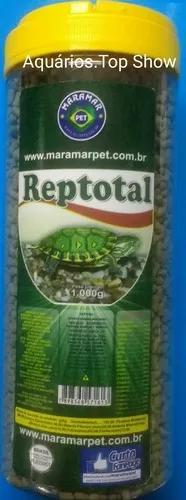 Ração tartaruga tigre d'água -maramar reptotal 1kg