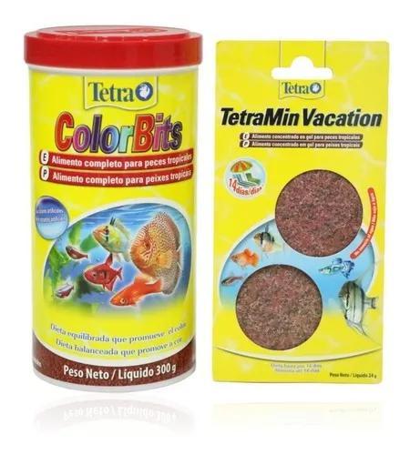 Ração tetra colorbits granules 300g promoção ferias ven