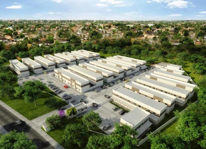 Residencial villa vitória - sobrados de 50m² e 65m² -