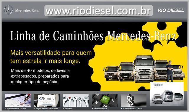 Rio diesel   caminhões mercedes benz, ônibus, sprinter,