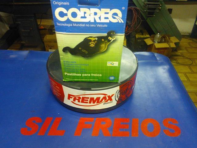 Sil freio - pastilhas e disco para volvo xc90 colocadas na