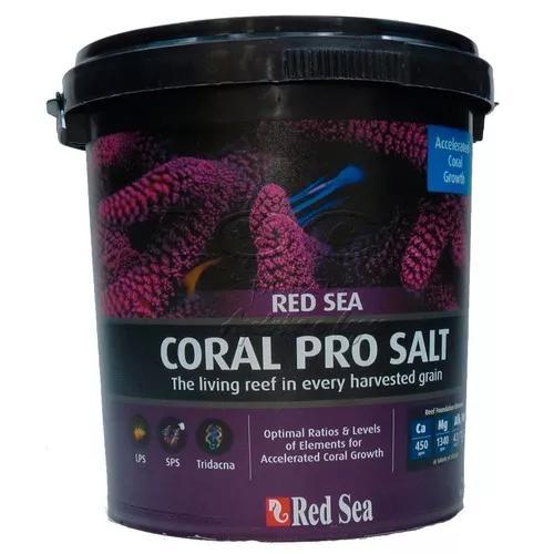 Sal marinho para aquario red sea coral pro balde 7kg promoç