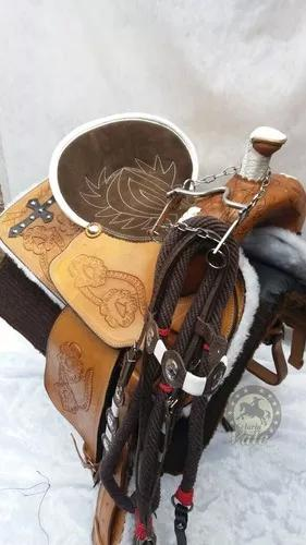 Sela baliza e tambor rancheira profissional completa inox