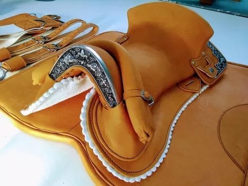 Sela chapeada freio de ouro cavalo crioulo selaria cabanha