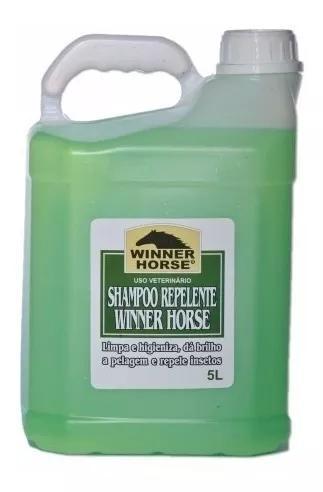Shampoo repelente winner horse - 5 litros