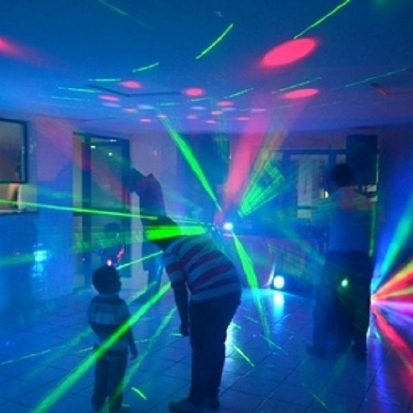 Som iluminação para festas e eventos