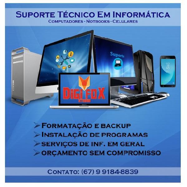 Suporte / assistência em informática