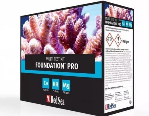 Teste red sea reef foudantion-ca/kh/mg