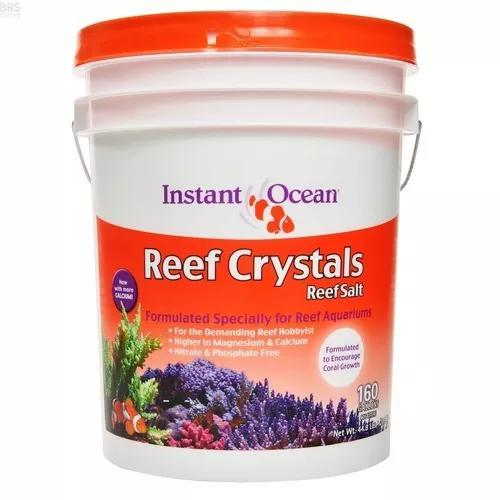 Tetra reef crystals instant ocean salt marinho 20,3kg 605l