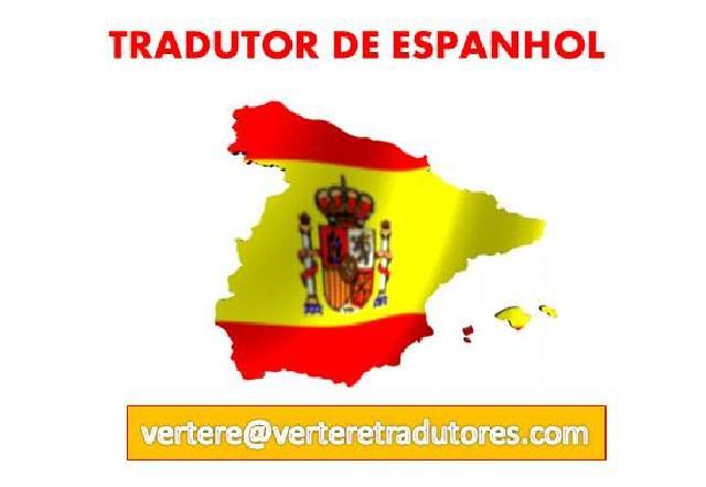 Tradução de espanhol para portugues