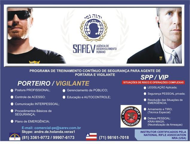 Treinamento de postura profissional de segurança /p agentes