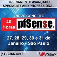 Treinamento e Capacitação Avançada de Pfsense® em São